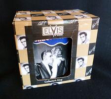 ~ vintage Vandor ELVIS MUG ~ Wertheimer Collection ~ Tongue ~ MIB