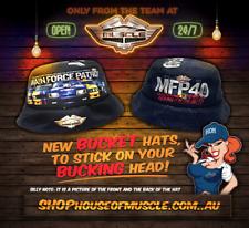 MFP 40TH  ANNIVERSARY Bucket Hat Ford Falcon V8 Interceptor  Adult Bucket hat