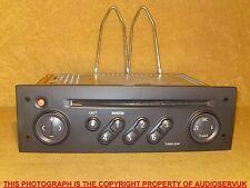 Renault SCENIC 2002-2005 Sintonizador Reproductor de CD de lista & Código. renrdw 131-10 8200-300 -858