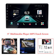 9''Multimedia Navigation Player MP5 Touch Screen Radio Car Stereo Bluetooth USB