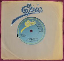 "Johnny Logan – What's Another Year 7"" – S EPC 8572 – Ex"