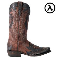 """DAN POST TEX 13"""" WESTERN HANDMADE LEATHER MEN'S BOOTS DP2566 * ALL SIZES"""