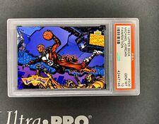 1992-93 Upper Deck Basketball Michael Jordan Fanimation #506 PSA 10 Rare !!