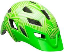 Bell Sidetrack Youth Cycling Helmet (Gloss Kryptonite/Retina Seer / One Size)