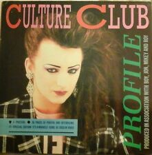 CULTURE CLUB BOY GEORGE PROFILE PACK POSTERS IT'S A MIRACLE GAME/DISC ETC EX/EX