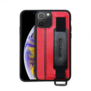 For iPhone 11 12 7 8 6 Wristband Card Cover Anti-Fall Phone Protective Case New