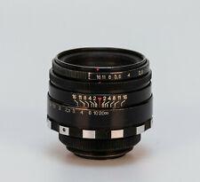 Helios-44 1:2 58mm M42 // Zeiss Biotar clone