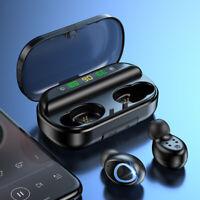 2019 Bluetooth 5.0 Earbuds TWS Wireless Earphones Stereo Headset Mini Headphones