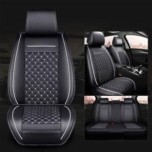 Padded Black Front & Rear Seat Covers Honda Accord Euro Jazz Civic City CRV HRV