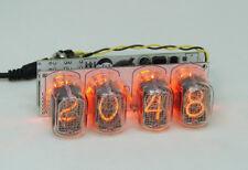 Nixie clock - in12 tube, amber backlight