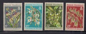 Br. Honduras   1970   Sc # 255-58   Orchids   MNH   (54127)