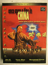 ONCE UPON A TIME IN CHINA - 2 DVD BOX UNCUT - JET LI - FSK 18