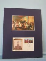 George Washington, Chairman of the Constitutional Convention & First day Cover