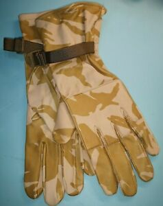 British Military Desert DPM Gloves Combat Warm Weather Size 6 -12 soft Leather