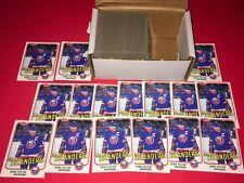 Lot Of (200) 1981-82 Topps Denis Potvin #27 Hockey Cards NM-MT