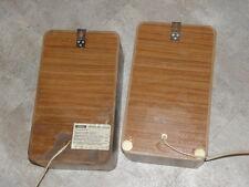 GRUNDIG hi fi box 306 speakers ENCEINTE vintage Compact LAUTSPRECHER retro