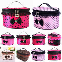 Womens Makeup Bag Cosmetic Case Storage Handbags Washing Organizer Travel Pouch