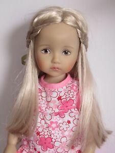 "Wig for Little Darling Boneka doll 10"" Dianna Effner sz 6/7""(16/17.5 cm)"