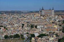 TOLEDO SPAIN SKYLINE CITYSCAPE POSTER 24x36 HI RES