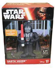 Star Wars Air Blown Darth Vader The Force Awakens NEW Disney Christmas Blow Up