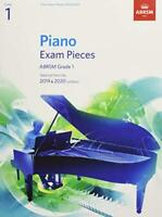 Piano Exam Pieces 2019 & 2020, ABRSM Grade 1: Selected from the 2019 & 2020 syll