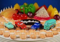 Disney Pixar Cars Fillmore Hudson Lightning McQueen Flo Cake Topper Figure Model