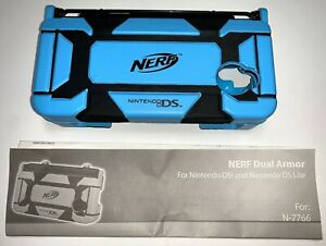 Nintendo DS Lite DSi NERF Dual Armor Video Game Console Protective Travel Case
