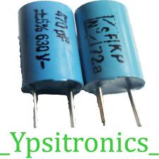 Lot x5 Folien Kondensator Polyester Capacitor 5600pF 400V R10mm KT1807 ERO NEU