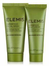 Elemis Lot Superfood Night Cream .6 oz & Superfood Facial Wash 1.0 oz SEALED New