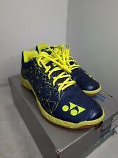 Yonex Power Cushion Eclipsion 2 Men's Tennis Shoe (Navy/Yellow) SIZE 11