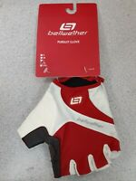 Bellwether Mens Pursuit Gloves XL Red/White Ferrari 90575065 New!!