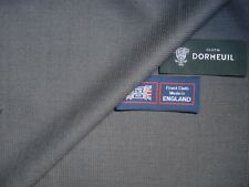 Dormeuil 100% SUPERFINE Lana Worsted Suiting Tessuto In Grigio – Made in England - 3.4 M