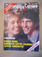 DOMENICA del CORRIERE n°52 1979 PaolO Rossi Angelo Capoccia Cartapesta  [C37]