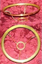 GENUINE ALADDIN 10 inch Brass Ring Shade Holder alladin oil kerosene lamp 401rb