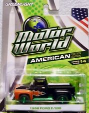 "1956 Ford F-100 Pick-up  schwarz   / Greenlight  ""Green Machine"" 1:64"