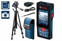 Bosch Professional 0601072F01 Medidor Láser de Distancias Glm 120 C con Trípode,