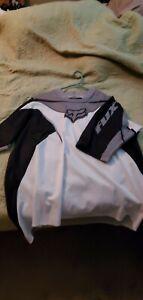 mens Fox cycling jerseys XL Black / White / Grey