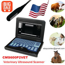 Animal Veterinary Ultrasound Scanner Laptop Machine75m Rectal Probecowhorse
