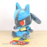 Pokemon Center Original POKEMON DOLLS Plush doll Lucario Toy Japan