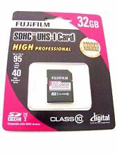 32GB SDHC Card UHS-I High Professional Class 10 ( 32 GB SDHC Card) FUJIFILM Neu