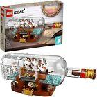 Lego Ideas Ship In A Bottle 92177 Expert Building Kit Snap Together Model ✅✅✅✅✅✅