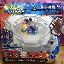 Beyblade Burst Stadium with 2 Beyblades VS Battle Set Arena Kids Gift Light Boy