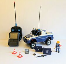 Playmobil Remote Control Car with Camera Video Police Car & Figure, Accessories