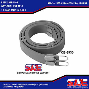 Brake Lathe Disc Silencer -Universal Rubber Band for Heavy Duty Vented Rotors