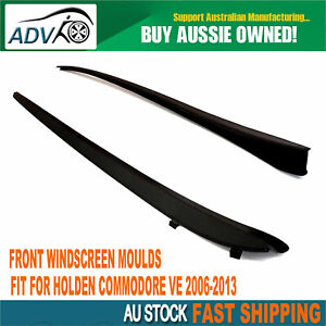 FOR HOLDEN COMMODORE VE 2006-2013 FRONT WINDSCREEN MOULDS Kits WINDOW SEALS