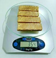 354 Grams Scrap Gold Bar For Gold Recovery Melted Different Computer Coin Pins🔥
