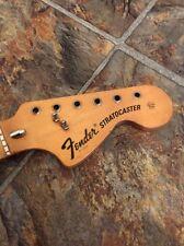Vintage 1972 1973 Fender Stratocaster Fullerton Original Maple Guitar Neck