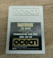 Commodore 64 Batman Cartridge only Ultra Rare