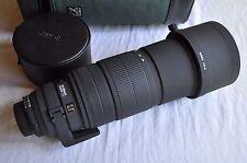 Pour Nikon Sigma APO HSM 120-300 mm f/2, 8 D EX, TOP!