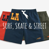SULANG Men's Quick Dry Solid Board Shorts Swim Trunks No Mesh Lining